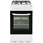 more details on Beko BSG580W Gas Cooker - White.