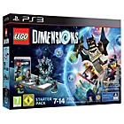 more details on LEGO Dimensions Starter Pack - Playstation 3.