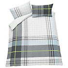 more details on Neon Check Bedding Set - Double.