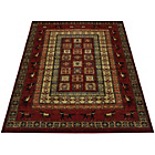 more details on Melrose Spirit Traditional Rug - 160x230cm - Red.