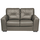 more details on Aston Regular Leather Sofa - Grey.