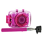 more details on Vivitar DVR781 Selfie Stick Bundle - Pink