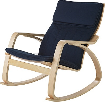 Buy Home Fabric Rocking Chair Blue At Argos Co Uk Your