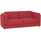 more details on Habitat Colombo Fabric 3 Seater Sofa Bed - Red.