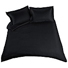 more details on Heart of House Bella Sateen Black Duvet Set - Superking.