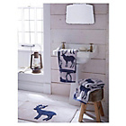 more details on Stag Bathmat - Navy.