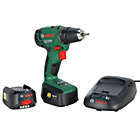 Bosch 18V Cordless Drill Driver with 2 Batteries