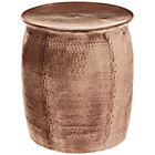 more details on Habitat Orrico Side Table - Rose Gold.