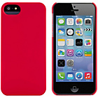 more details on Soft Feel Shell for iPhone 5 - Red.