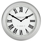 more details on Heart of House Classic Grey Wall Clock.