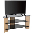 more details on Oak and Black Glass 42 Inch TV Stand.