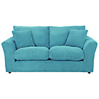 more details on Barney Large Fabric Sofa Teal.