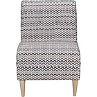 more details on Armless Chair Zigzag Print.