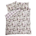 more details on Catherine Lansfield Stag Heather Duvet Cover Set - Single.