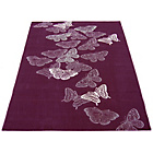 more details on Melrose Atla Butterfly Rug - 80x150cm - Heather.