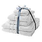 more details on HOME Zero Twist 6 Piece Towel Bale - White.