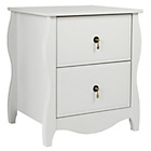more details on Heart of House Abingdon 2 Drawer Bedside Chest.