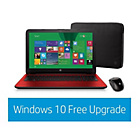 more details on HP 15-ac042na Intel Pentium 15.6 Inch 8GB 2TB Laptop - Red.