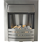 more details on Adam Helios Electric Inset Fire - Brushed Steel.