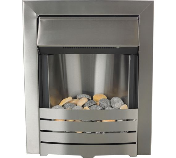 buy adam helios 2kw electric inset fire brushed steel at. Black Bedroom Furniture Sets. Home Design Ideas