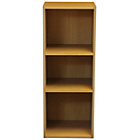 more details on Phoenix 3 Shelf Bookcase - Beech.