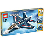 more details on LEGO Creator Blue Power Jet - 31039.