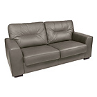 more details on Aston Leather Sofa Bed - Grey.