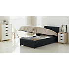 more details on Hygena Lavendon Single Bed Frame - Black.