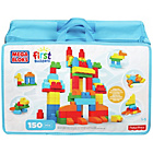 more details on Mega Bloks First Builders Deluxe Building Bag Toy Set.