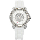 more details on Juicy Couture Ladies' Pedigree White Stone Set Strap Watch.