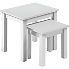 more details on HOME Nest of 2 Tables - White.
