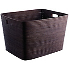 more details on Habitat Canella Dark Stained Log Basket.