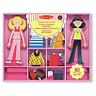 more details on Melissa and Doug Abby & Emma Magnetic Wooden Dress Up.