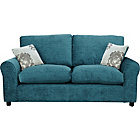more details on Tabitha Large Fabric Sofa - Teal.