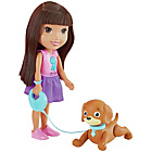 more details on Fisher-Price Dora & Friends Train & Play Dora and Perrito.