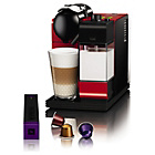 more details on Nespresso Lattissima+ Coffee Machine by De'Longhi - Red.