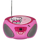 more details on Hello Kitty CD Boombox - Pink.