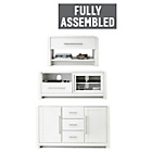 more details on Heart of House Elford 3 Piece Living Room Pack - White.
