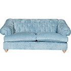 more details on Heart of House Somerton Large Fabric Sofa - Sky Blue.
