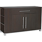 more details on Hygena Minsk 2 Door 1 Drawer Sideboard - Wenge Effect.