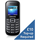 more details on O2 Samsung E1200 Mobile Phone - Black.