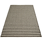 more details on Melrose Elegance Stripe Rug - 120x170cm - Anthracite.