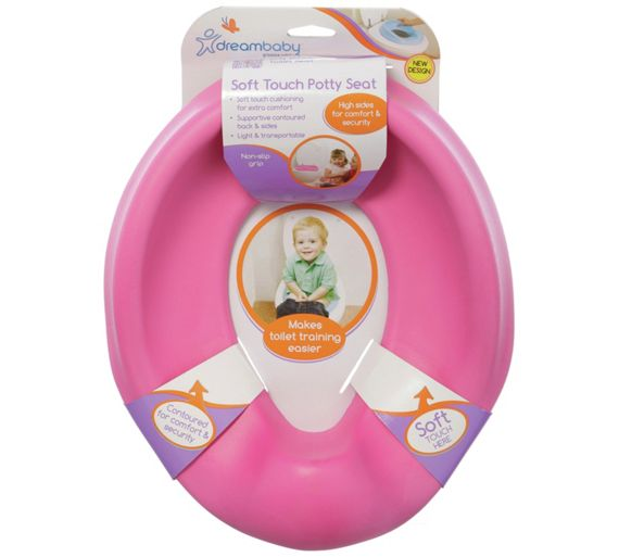 Toys R Us Potty Watch : Buy dreambaby comfy contoured potty seat pink at argos