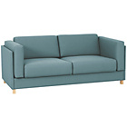 more details on Habitat Colombo Fabric Sofa Bed - Teal.