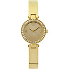 more details on Juicy Couture Ladies' Luxe Couture Gold Bangle Watch.
