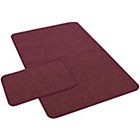 more details on York Twist Runner and Doormat - Wine.