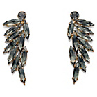 more details on Fiorelli Leaf Cluster Earrings.