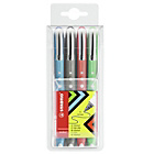 more details on Stabilo Bionic Worker Set of 4 Rollerball Pens.