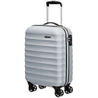 more details on Samsonite Palm Valley 55cm Spinner Suitcase - Silver.