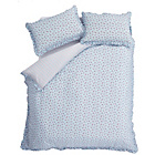 more details on Catherine Lansfield Ditsy Duckegg Duvet Cover Set - Kingsize